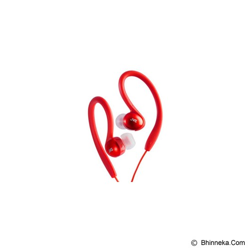 JVC Proof Sport Headphones [HA-EBX5] - Merah - Earphone Ear Monitor / Iem